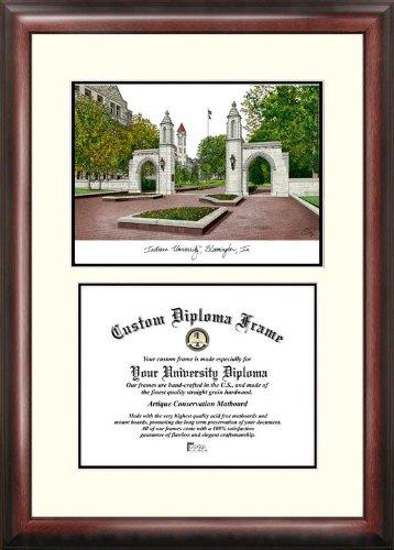 Campus Images ''Indiana University, Bloomington'' Scholar Diploma Frame, 8.5'' x 11''