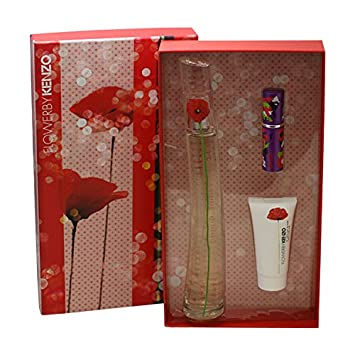 8abe1de1 Amazon.com : Flower by Kenzo for Women Gift Set, 3 Piece : Fragrance Sets :  Beauty
