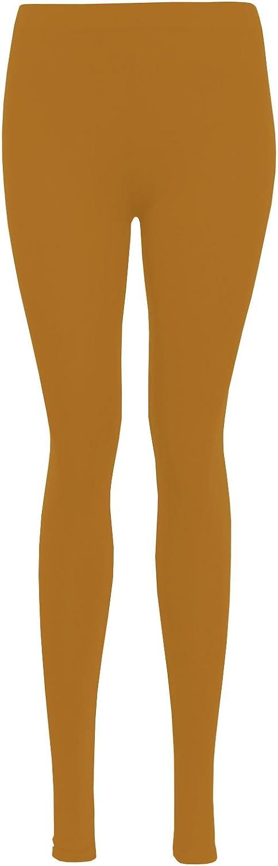 Colours * 25 LessThanTenQuid Missloved /™ Plus Size Plain Stretchy Viscose Lycra Leggings UK Sizes 12-26