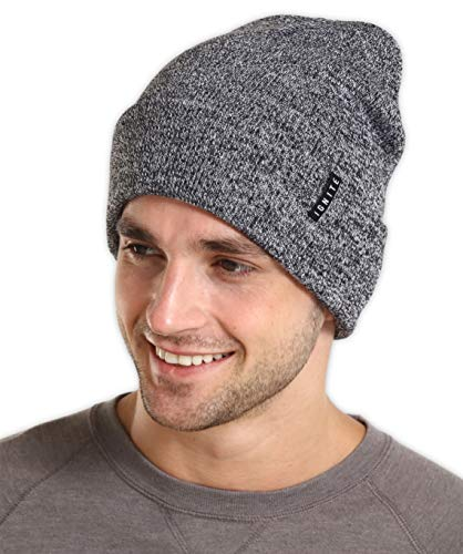 IGNITEX Winter Beanie Knit Hats for Men & Women - Warm, Stretchy & Soft Cold Weather Stylish Toboggan Watch Caps - Serious Cuff Beanies for Serious Style