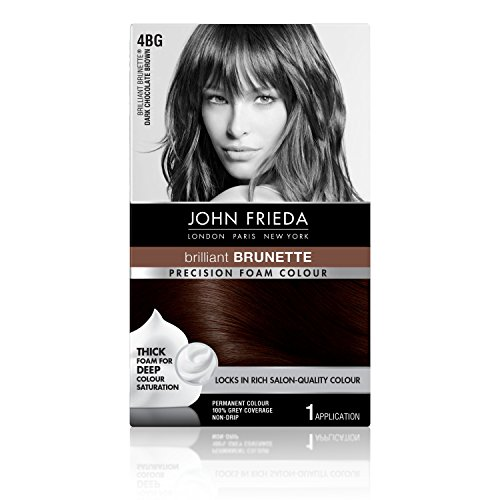 John Frieda Precision Foam Colour, Dark Chocolate Brown 4BG (Best Foam Hair Color)
