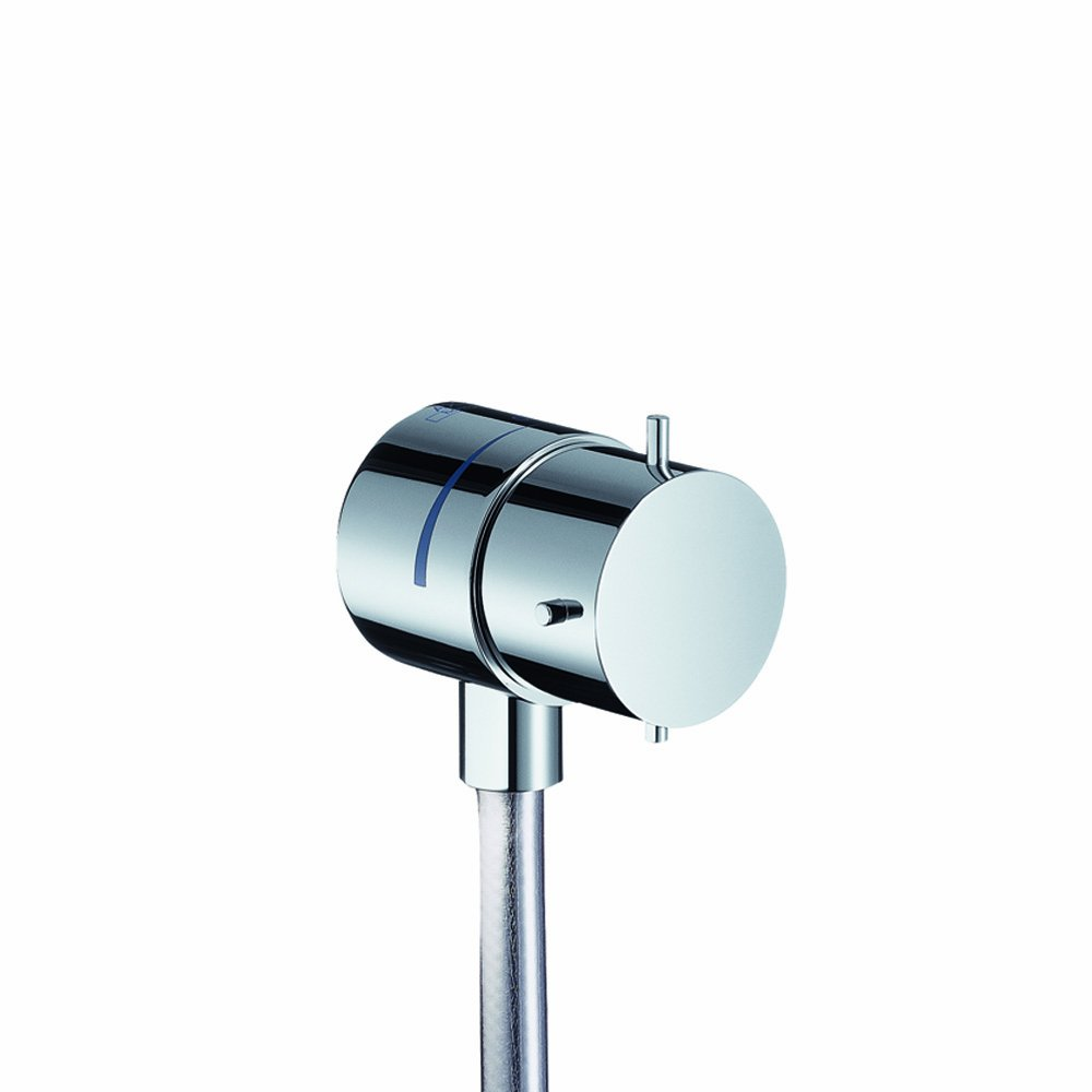 Axor 10882001 Starck Fix Fit Wall Outlet, Chrome