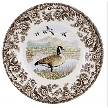 Spode Woodland - Canada Goose Salad Plate