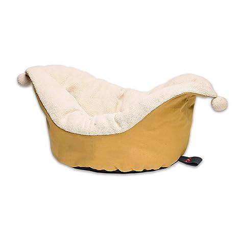 Cama para Mascotas Lona Sombrero De Payaso Cat Litter Winter Kennel Suministros para Mascotas Pequeños y