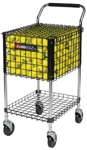 Gamma Ballhopper Brute Teaching Cart 325, Black