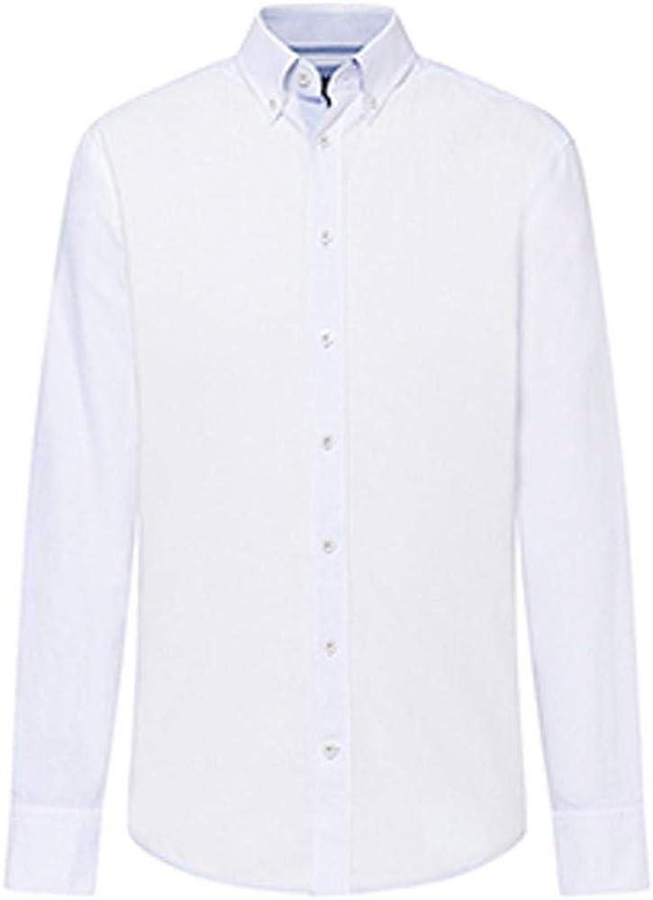 Hackett American Oxford MT Camisa, Blanco (White 800), Small para Hombre: Amazon.es: Ropa y accesorios