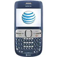 Nokia C3 Prepaid Gophone (At&T) With $30 Airtime Credit Features