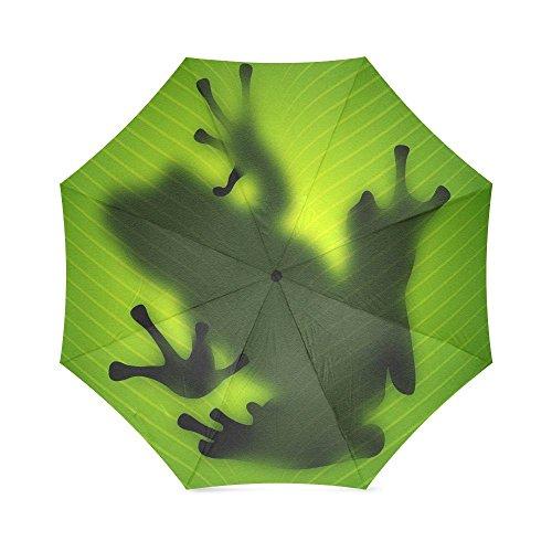 - Cute Red Eyed Tree Frog Folding Rain Umbrella/Parasol/Sun Umbrella