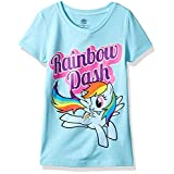 My Little Pony Little Girls' Mlp Graphic Cap Sleeve T-Shirt, Cancun, S-4