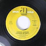 Jackson Browne 45 RPM Running on Empty / The Pretender