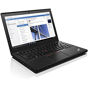 "Flagship Lenovo ThinkPad X260 Business 12.5"" Anti-Glare Full HD IPS Laptop - Intel Dual-Core i5-6200U Up to 2.8GHz, 8GB DDR4, 256GB SSD, 802.11ac, Bluetooth 4.0, HD Webcam, HDMI, USB 3.0, Windows 10"