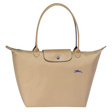 9956bb861ae Amazon.com: Longchamp 'Large 'Le Pliage Club' Nylon Tote Shoulder ...