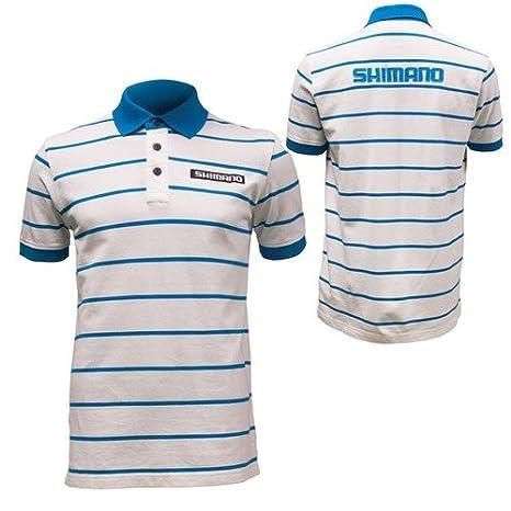 SHIMANO Polo Camisa Talla S Manga Corta con Logo: Amazon.es ...