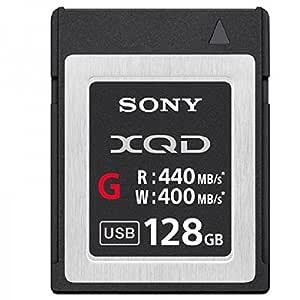 Sony XQD-G 128GB 128GB XQD Memoria Flash - Tarjeta de Memoria (128 GB, XQD, 440 MB/s, Negro)