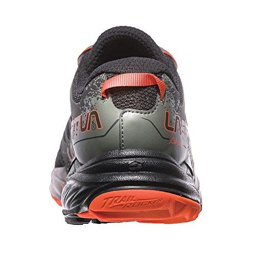 La Sportiva Mens Akasha Trail Scarpa Da Corsa Nero / Tangerine
