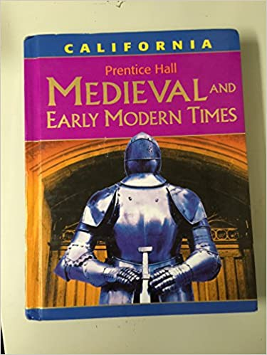 Medievel And Early Modern Times California