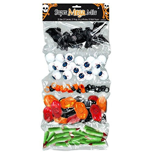 Halloween Plastic Super Mega Mix Favors -