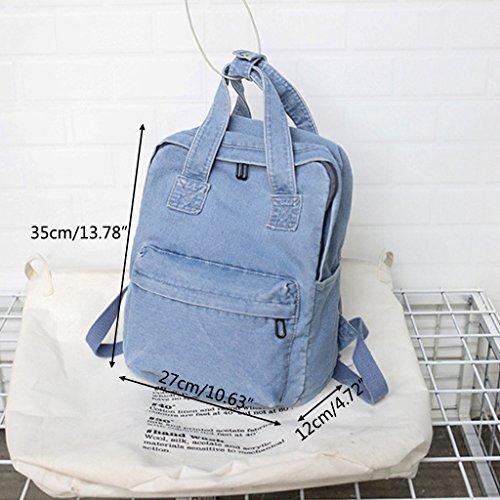 Lamdoo Azul al Hombro Azul Claro para Bolso Azul Mujer Claro FF8wPr