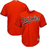 Baltimore Orioles MLB Mens Majestic Cool Base Replica Jersey Orange Big & Tall Sizes