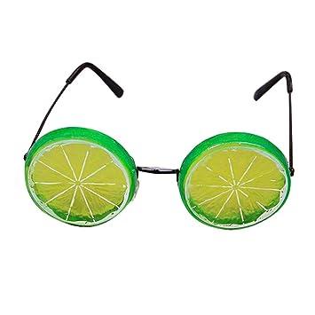 c75132540668 Amazon.com  Amosfun Lemon Eyeglasses Halloween Costumes Funny Dance ...