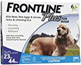 Merial Frontline Plus Flea and Tick Control for Dogs, 23 to 44 lbs, 6-Pack