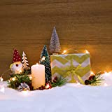 2 Pack 3 x 8feet Christmas Snow Blankets- Thickened