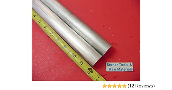 "2 Pieces 7/"" OD ALUMINUM 6061 ROUND ROD 3/"" LONG T6511 Solid Lathe Bar Stock"