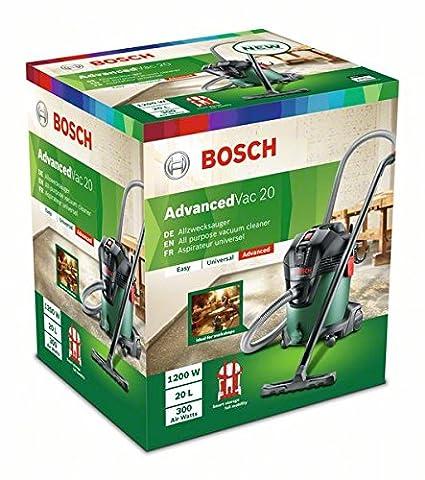 Bosch Home and Garden 06033D1200 Aspiradora verde 1200 W: Amazon.es: Bricolaje y herramientas