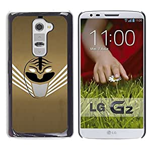 LECELL -- Funda protectora / Cubierta / Piel For LG G2 D800 D802 D802TA D803 VS980 LS980 -- Abstract Mask --