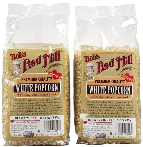 Bob's Red Mill White Popcorn - 27 oz - 2 pk -