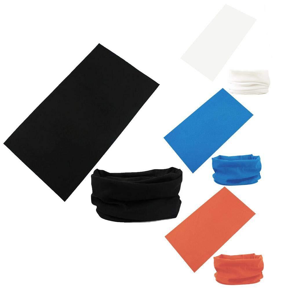 Sports Headscarf Seamless Magic Variety Turban Outdoor Riding Bib Set Scarf Equipment Sunscreen Solid Color Bandana Head Mask Neck Gaiter