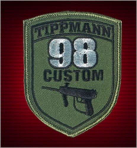 Tippmann 98 Custom Patch with Velcro (Used Tippmann 98 Custom)