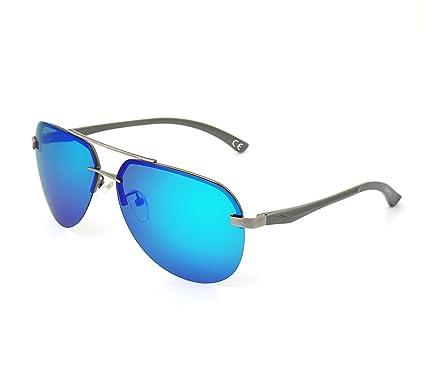 DAWILS Unisex Aviator Stil Polarisierte Sonnenbrille Herren und Damen UV400 Schutz Verspiegelt Pilotenbrille FrxapCH