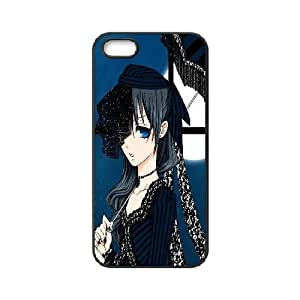 Customized iPhone Case Black Butler Japanese Anime Printed Durable RUBBER iPhone 5 5S Case Cover