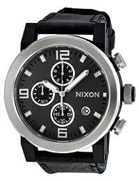 Nixon Men's NXA315000 Classic Analog with Chronograph Black Dial Watch