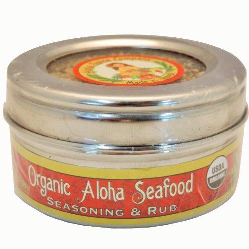Organic Aloha Seafood Seasoning & Rub (2 Pack)