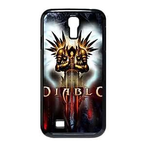 Personality customization TPU Case with Diablo Diablo Samsung Galaxy S4 9500 Cell Phone Case Black