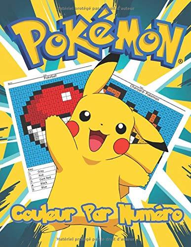 Amazon Fr Pokemon Couleur Par Numero Pokemon Livres D Activites Pour Enfants 30 Dessins Largement Imprimes Apprendre Et Former Facilement Les Numeros Livre De Coloriage De Mathematiques Coloring Books Minerva Livres
