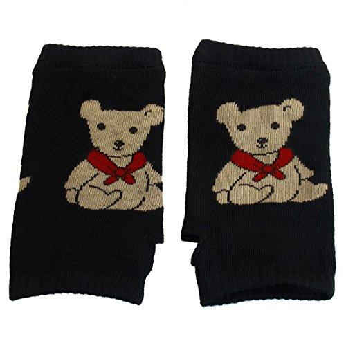 コジオスコ技術的な四uxcell 指なし 手袋 グローブ ニット 手首 ウォーマー フィンガーレスグローブ 指無し手袋 暖かい 防寒 アクリル