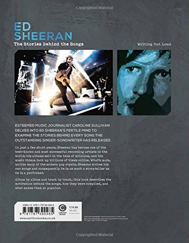 Amazon com: Ed Sheeran: Writing Out Loud (Stories Behind the