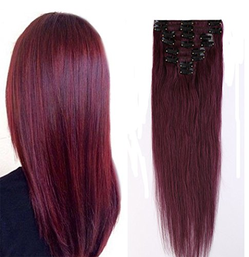 Extensions 16 22inch Standard Straight Burgundy product image