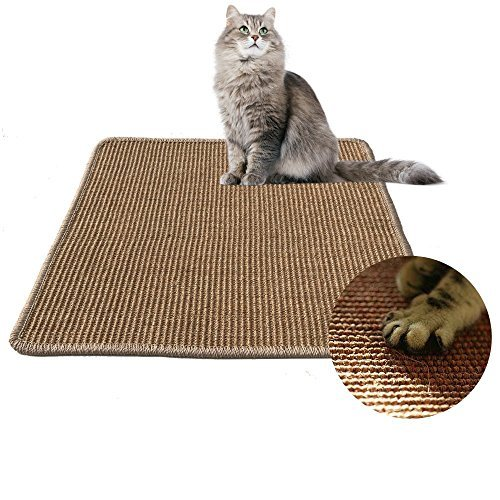LPLED Cat Scratching Mat,Natural Sisal Cat Mat,Protection Play Scratcher Pad by LPLED (Image #1)