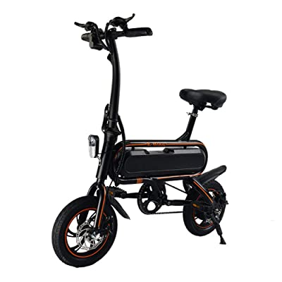LINGS Foldable Bicycle Kids' Bikes 12-inch Small Folding Bicycle: Home & Kitchen