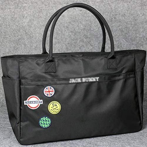 多機能トラベルラゲージバッグゴルフバッグポータブルモバイルゴルフの服ストレージ光と簡単に実用的には、保存するために47×18×30センチメートル(色:ブラック、ブルー、レッド) HMMSP (Color : Black)