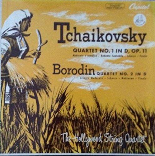 Peter I. Tchaikovsky: String Quartet No. 1 in D Major, Op. 11 ~ String Quartet (In One Movement) in B Flat Major (1865) ~ The Borodin String Quartet ~~ Melodiya Angel SR-40222 (Tchaikovsky String Quartet No 1 In D Major)