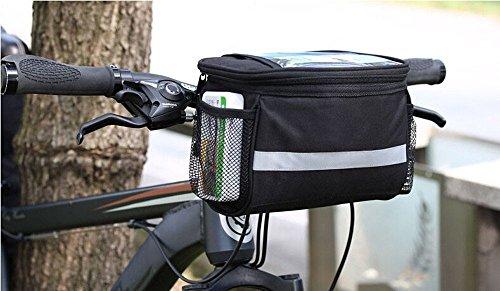 Onedayshop 3.5 L Lagre Capacity Waterproof Bike Bicycle Front Frame Tube Handlebar Bag