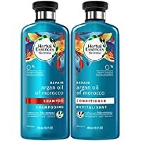 2-Pack Herbal Essences Argan Oil Morocco Shampoo and Conditioner Pack (13.5 Fluid Ounces)