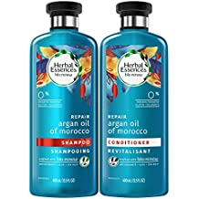 Herbal Essences Bio:renew Argan Oil of Morocco Shampoo and Conditioner Bundle Pack, 13.5 Fluid Ounces Each (Pack of 2)