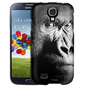 Samsung Galaxy S4 Case, Slim Fit Snap On Cover by Trek Serious Gorilla Case