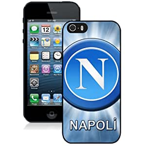 Unique DIY Designed Case For iPhone 5S With Soccer Club Napoli 03 Football Logo Cell Phone Case